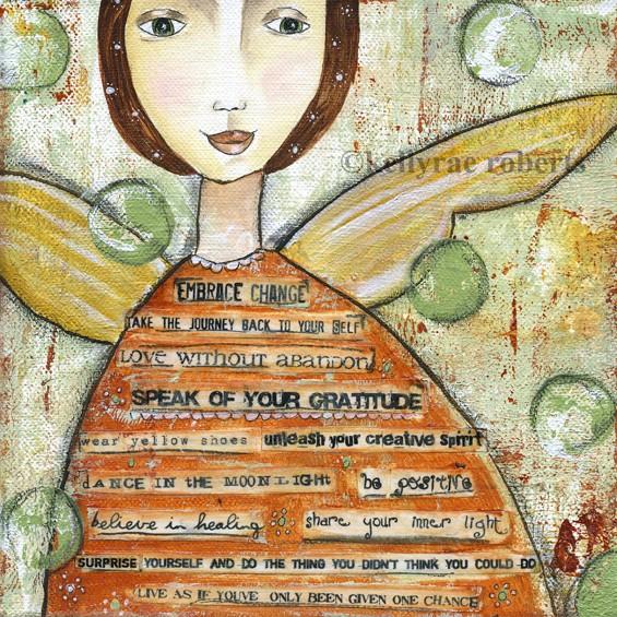 "Buy ""Embrace Change"" Wall Art — Kelly Rae Roberts"